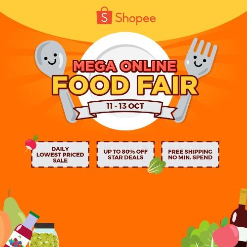Shopee Mega Online Food Fair