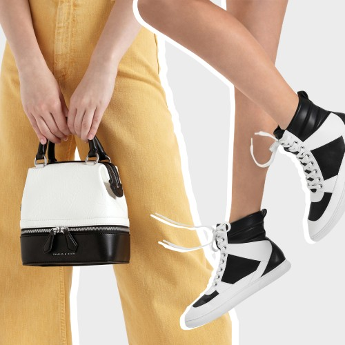 Get our bags and shoes