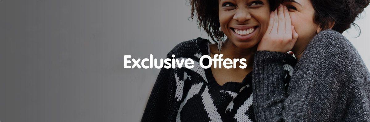 Exclusive Coupons & Deals