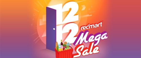Redmart 12.12 Sale Coupon